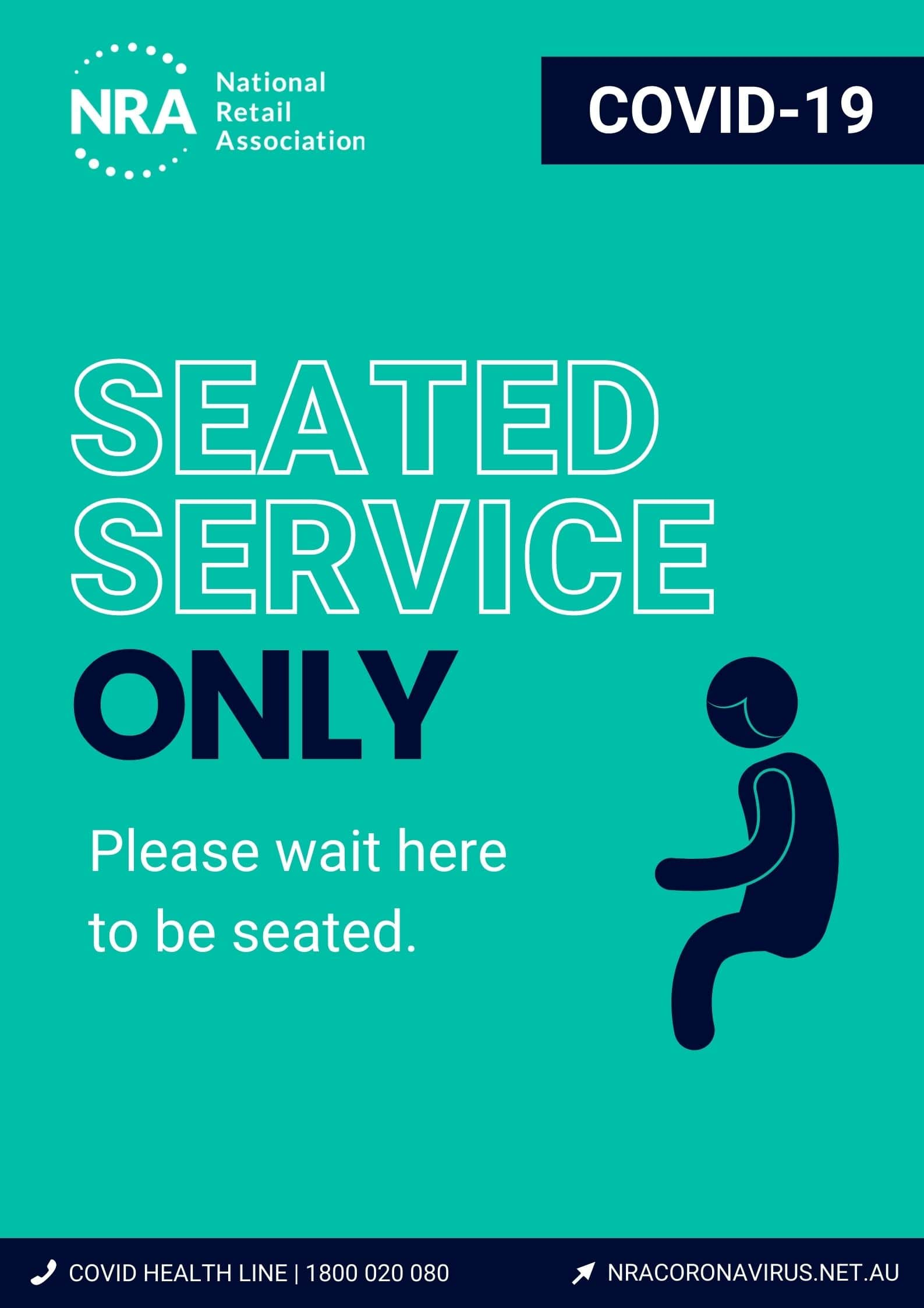 COVID-19 Reopening Poster_Seated Service Only-min